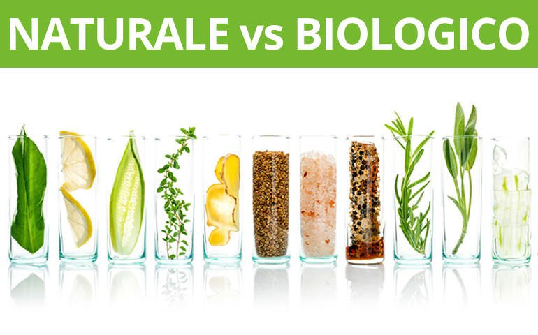 differenza tra cosmetici naturali e biologici